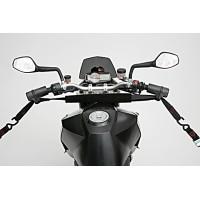 Návleky na řídítka pro přepravu moto
