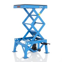 Hydraulický zvedák Cross Enduro LIFT XL modrý