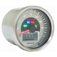 Tachometr KOSO D64 Chrome Style max.260km/h