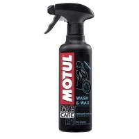 Čistící vosk MOTUL E1 Wash & Wax 0,4L