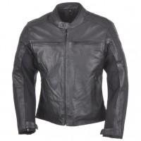 Kožená moto bunda AYRTON Classic (černá)