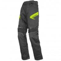 Zkrácené moto kalhoty AYRTON Brock (černé-fluo)