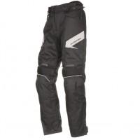 Prodloužené moto kalhoty AYRTON Brock (černé-šedé)