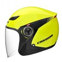 Otevřená přilba CASSIDA Reflex Safety (žlutá fluo-černá)