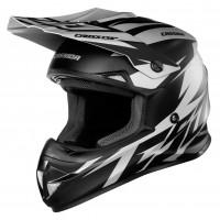 Motokrosová helma CASSIDA Cross Cup Two (šedá matná-černá)