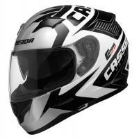 Integrální helma CASSIDA Integral 2.0 Perimetric (černá-bílá-šedá)