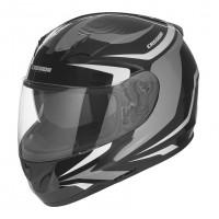 Integrální helma CASSIDA Integral 2.0 (černá-bílá-šedá)