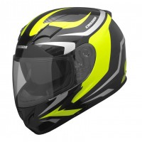 Integrální helma CASSIDA Integral 2.0 (černá-šedá-žlutá fluo)