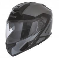 Výklopná helma CASSIDA Velocity ST 2.0 (stříbrná titanium-černá)