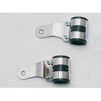 Držáky předního světla chrom 38-42 mm
