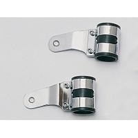 Držáky předního světla chrom 43-47 mm