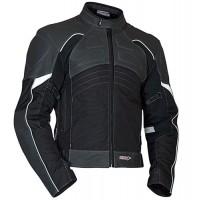 MBW LANTA - pánská kůže + textil moto bunda