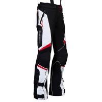 MBW EVELIN RED - dámské textilní moto kalhoty