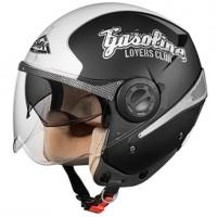 Otevřená helma SMK Sirius Art Gasoline MA216