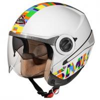 Otevřená helma SMK Sirius Sharp GL149