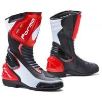Moto boty FORMA FRECCIA černo-bílo-červené
