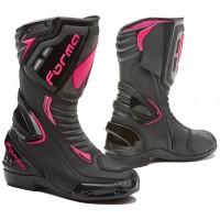 Dámské moto boty FORMA FRECCIA LADY černo-růžové