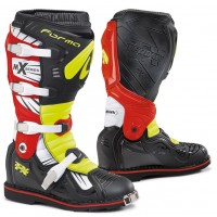 Moto boty FORMA TERRAIN TX černo-žluté fluo-červené