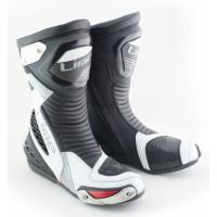 MBW OZZY sportovní moto boty bílo černé
