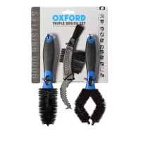 Sada čistících kartáčů na řetězovou sadu a kola OXFORD