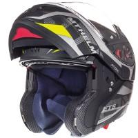 Výklopná helma MT Atom SV Divergence (šedá matná)