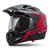 Enduro helma CASSIDA Tour 1.1 Spectre (šedá/ červená/ černá)