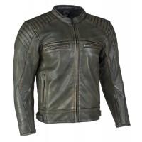 MBW PEET - pánská kožená retro moto bunda