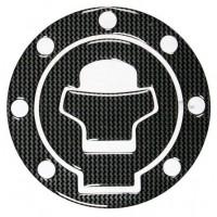 Polep víčka nádrže Suzuki carbon