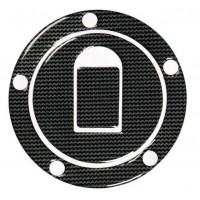 Polep víčka nádrže Kawasaki carbon