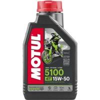Motorový olej MOTUL 5100 4T 15W-50 1L