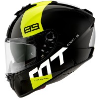Integrální helma MT Blade 2 SV 89 B3 (černá-žlutá fluo)