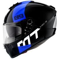 Integrální helma MT Blade 2 SV 89 B7 (černá-modrá-bílá)