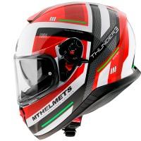 Integrální helma MT Thunder 3 SV Carry C5 (červená-bílá-černá)