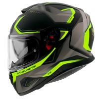 Integrální helma MT Thunder 3 SV Turbine C3 (fluo žlutá-černá-šedá) matná