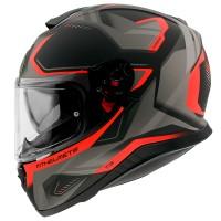 Integrální helma MT Thunder 3 SV Turbine C4 (fluo oranžová-černá-šedá) matná