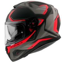 Integrální helma MT Thunder 3 SV Turbine C5 (červená-černá-šedá) matná