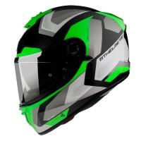 Integrální helma MT Blade 2 SV Finishline D6 (zelená-černá-šedá)