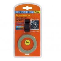 Reflexní proužky na ráfky modré s aplikátorem